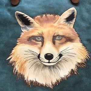 Anthropologie Miss Albright Fox Bag